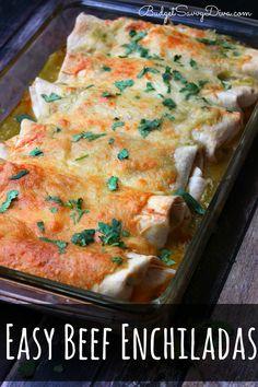 Easy Beef Enchiladas Recipe