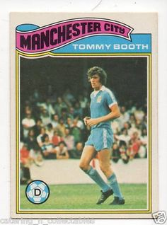 Tommy Booth Manchester city