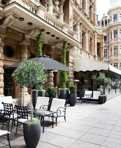 Stockmann Helsinki, Patio, Mansions, House Styles, Outdoor Decor, Beautiful, Home Decor, Decoration Home, Manor Houses