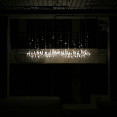 Or,Or,U (Contemporary Art Centre of South Australia - The New New) 2011; chandeliers; dimensions variable