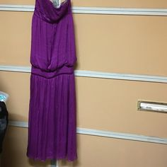 Malandrino purple studded strapless gown Sz 2 Gorgeous beyond words Catherine Malandrino Dresses Maxi