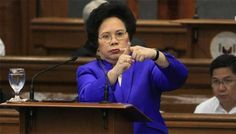 Senator Santiago: Chinese government a national security virus: Philippine electric industry is infected by what Senator Miriam Defensor Santiago termed as 'national-security virus'.