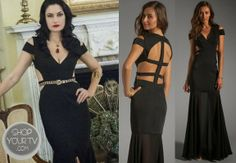 Witches of East End: Season 1 Episode 10 Wendy's Black Cutout Gown--neeeeed this dress in my life! Beautiful Dresses, Nice Dresses, Formal Dresses, Glamorous Dresses, Dress Outfits, Cool Outfits, Madchen Amick, Witches Of East End, Gypsy Style