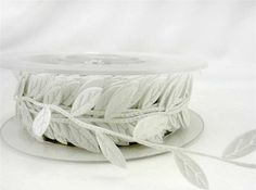3 cm White Leaf Ribbon Lace 4 Yards Good Crafted DIY Ideas -- Check out the image by visiting the link.