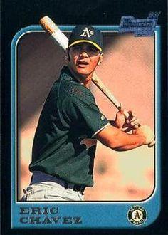1997 Bowman #210 Eric Chavez Front
