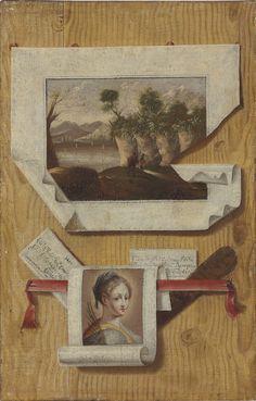 Trompe l'oeil, Domenico Remps, 1695