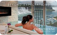 Christienne Fallsview Spa Floor of Sheraton on the Falls Hotel- Niagara Falls, Ontario Top Hotels, Hotels And Resorts, Best Hotels, Niagara Falls Canada Hotels, Ontario Travel, Niagara Region, Canadian Travel, Luxury Spa, Luxury Hotels