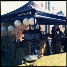 Our cute little coffee stall!