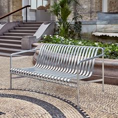 Banc Hay PALISSADE LOUNGE L139 Outdoor Chairs, Indoor Outdoor, Outdoor Furniture, Outdoor Decor, Bureau Design, Ronan & Erwan Bouroullec, Muuto, Modern, Material