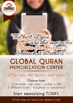 Global Quran Memorization Center: Memorize Quran Onine!