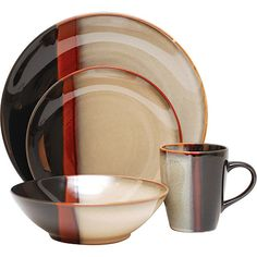 Sango Jubilee 16-pc Dinnerware Set | Overstock.com Shopping - The Best Deals on Casual Dinnerware | dishes | Pinterest | Casual dinnerware Dinnerware and ...  sc 1 st  Pinterest & Sango Jubilee 16-pc Dinnerware Set | Overstock.com Shopping - The ...