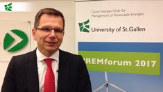Rolf Wüstenhagen on the 2017 and current challenges of the energy transition Policy and new business models are two important drivers of. Good Energy, Renewable Energy, University, Management, Challenges, Social Media, Social Networks, Community College, Social Media Tips