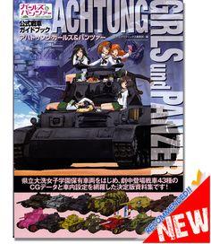 Achtung Girls and Panzer Art Book