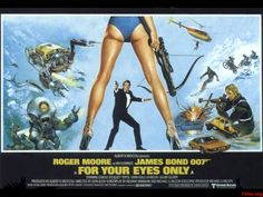 For your eyes only, James Bond, Roger Moore