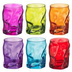 Funky glasses drinks dishes for my home kitchen party cups refreshments style bright happy fun