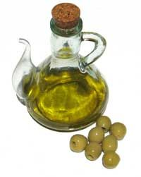 Olive oil is a wonderful oil for facial cleansing
