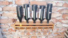 Wine rack, Wall mounted wine holder, Minimalist & functional design, Up-cycled Wine Bottle Holder Wall, Wine Rack Wall, Wall Mount, Upcycle, Minimalist, Rustic, House, Ideas, Design