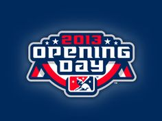 Eighth straight year doing the Opening Day logo for Minor League Baseball for use by all 160 clubs.