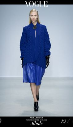 ALLUDE Fall / Winter 13/14
