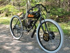 Indian Vintage Motorized Bicycle replica