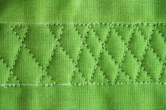 Twist Again, Free Motion Quilt Tutorial  one style, 2 different looks, great for borders