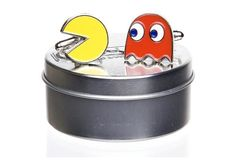 A shot of the PAC-MAN Cufflinks (which I also just received!!) from Happy Birthday Pac-Man on Mashable.com!
