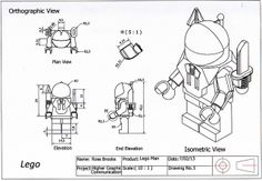 Lego Man Orthographic View | Flickr - Photo Sharing!