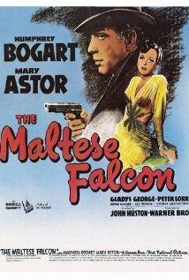 The Maltese Falcon--A private detective takes on a case that involves him with three eccentric criminals, a gorgeous liar, and their quest for a priceless statuette.  Made in 1941.