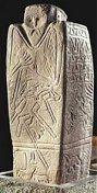 Anthropomorphic stela from Ukraine (Dnipropetrovsk Yavornytsky History Museum)
