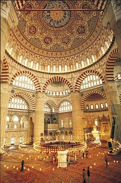 Al Masjid Al Azraq - Blue Mosque, Istanbul. One of my favorite masjid. Alhumdullilah.