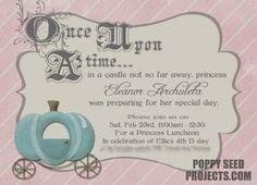 Mums make lists ...: Princess Party Invitations