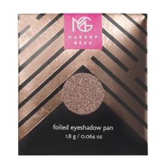 Makeup Geek Foiled Eyeshadow Pan | Mesmerized