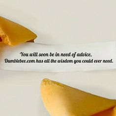 For years we have relied on bland, hollow pastries for advice. But now there's a better way! ...try Dumblebee! #dumblebee #fortunecookie #fortune#instagood #instafortune #dmblbit