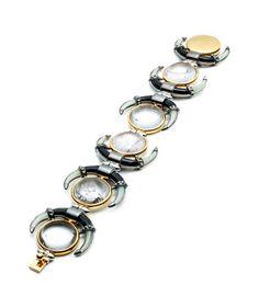 Moon Bracelet by Eddie Borgo for Preorder on Moda Operandi Jewelry Art, Fashion Jewelry, Art Of Beauty, Eye Of Horus, Eddie Borgo, Girls Best Friend, Jewelry Trends, Bracelet Watch, Jewelery