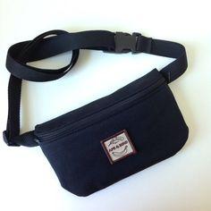 Black Fanny Pack, Black Belly bag, Bum bag, Belly Bag, Vegan Fanny pack , Utility  belt , Hand free, Festival fanny pack , Cute Bum bag