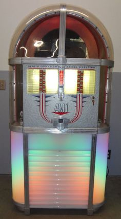 1951 AMI Jukebox. http://www.pinterest.com/TheHitman14/ghosts-of-audios-past/