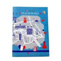 This super cute Traveller Kids France folder with posters (on culture, history, sports, etc.) is full of learning and interactive games for kids.. Includes a scale as well!
