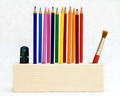 PENCIL HOLDER Pen Holder Desk Organizer Big Daisy