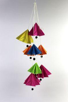 DIY - Origami Sternenhänger