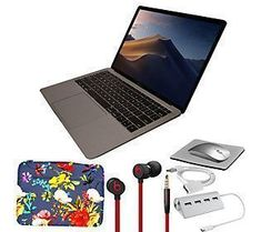 "Apple MacBook Air 13"" Retina 128GB with Beats u Macbook Air Laptop, Macbook Air 11 Inch, Macbook Pro, Macbook Air Wallpaper, Macbook Desktop, Black Beats, Rose Gold Chrome, Aesthetic Collage, Aesthetic Dark"