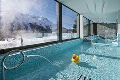 The Kulm Hotel in St. Moritz, Switzerland