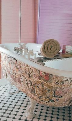 Что сделать из ракушек (подборка) / Ванная комната, туалет и зеркала / ВТОРАЯ УЛИЦА