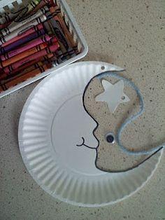 Pre-K Moon craft? Toddler Good Night Moon?
