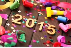 HD Happy New Year 2015 decorations wallpaper