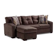 American Furniture Warehouse    Virtual Store    Hematite Sofa With Chaise