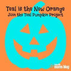 Teal for Halloween: Teal Pumpkin Project