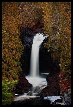 Cascade River Falls, Minnesota