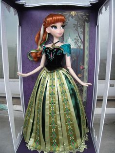"Anna coronation version - ""Disney Designer"" limited edition. I'm not much into this movie actually, but she's awesome!"