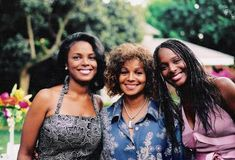 Rebbie Jackson and Daughters
