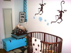 Boys monkey nursery